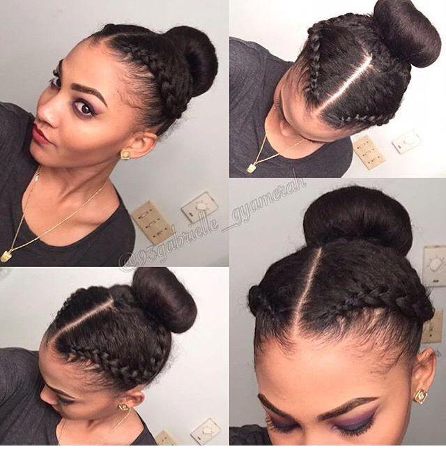 Coiffure pour les cheveux naturels