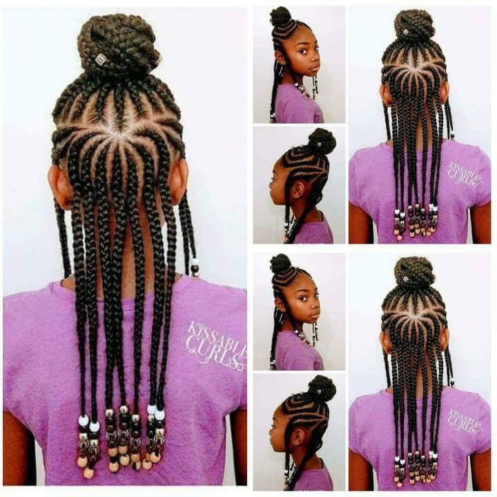 coiffure tresses nattes pour enfant afro afrodelicious salon pour cheveux naturels. Black Bedroom Furniture Sets. Home Design Ideas
