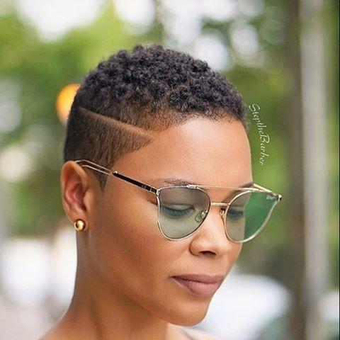 Coupe courte femme afro - afrodelicious salon nappy
