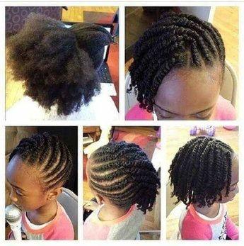 Nouvel Coiffure,tresses,nattes pour enfant afro- afrodelicious salon pour GJ-58