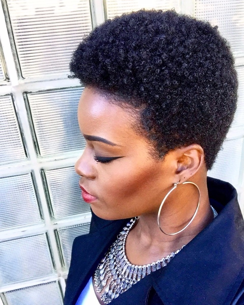 Coupe Courte Femme Afro Afrodelicious Salon Nappy