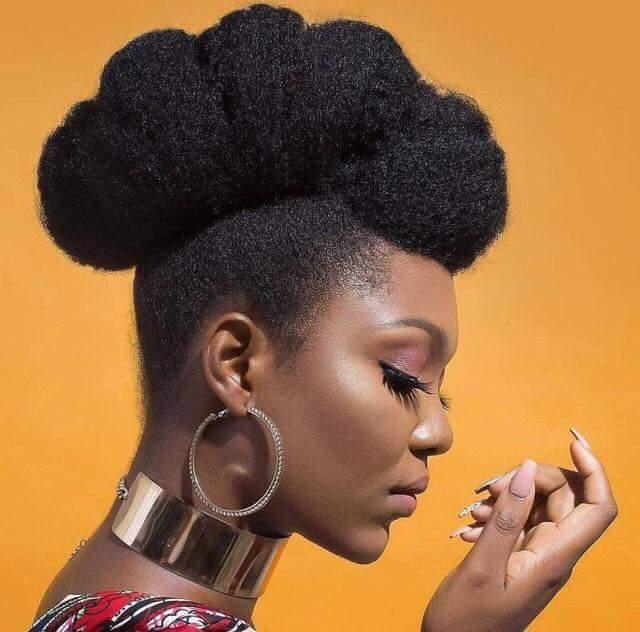 Coiffure De Mariage Cheevux Afro Naturels Coiffure De Mariage Cheveux Crepus Coiffure Evenement Cheveux Crepus