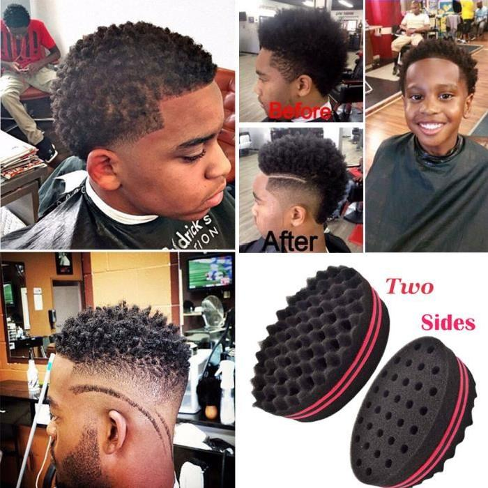 Coupe afro naturelle homme